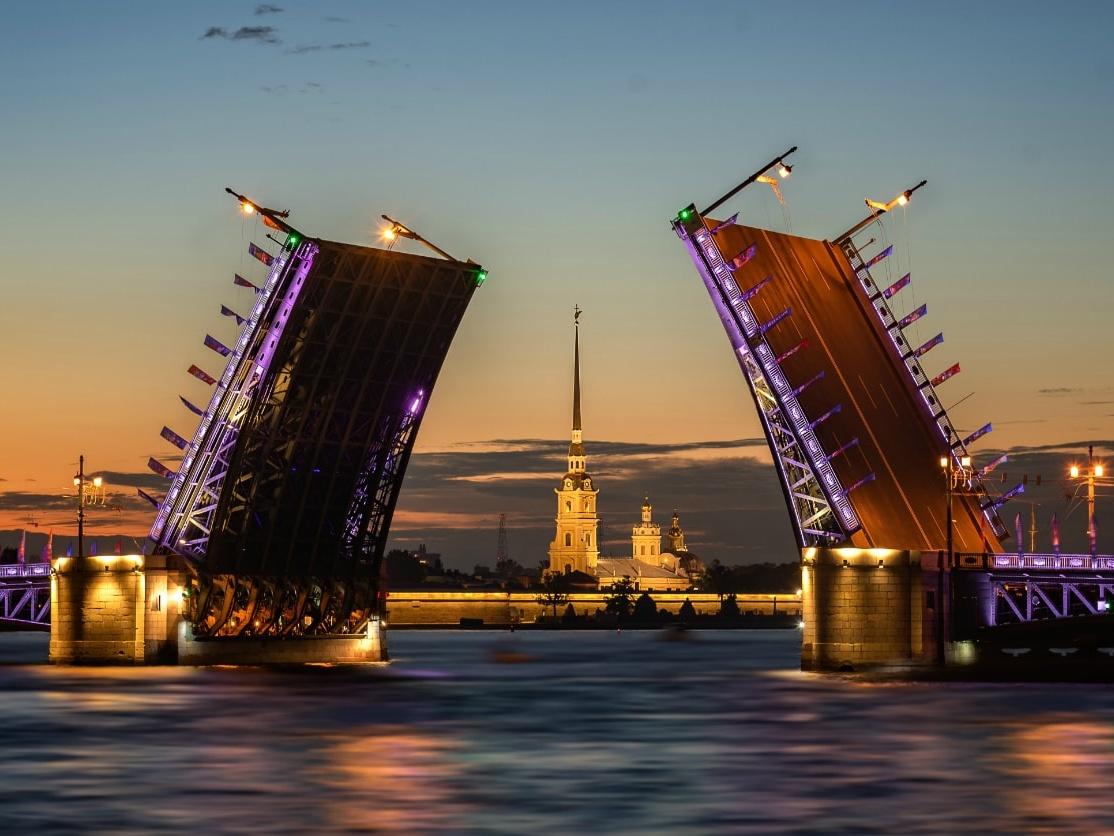 10. St. Petersburg Bridges